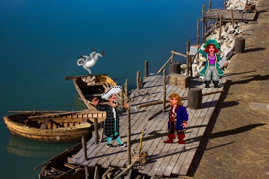 Real Bits - Monkey Island 2 LeChuck's Revenge Booty Island
